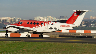 VH-AMQ - Beechcraft 200C Super King Air - Ambulance Service of NSW