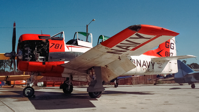 NX88AW - North American T-28B Trojan - Private