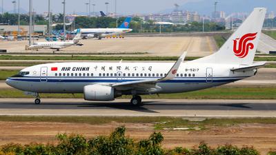 A picture of B5217 - Boeing 73779L - [34022] - © Hatsune Kato
