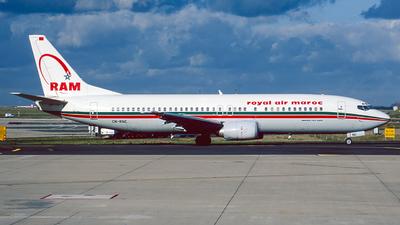 CN-RNC - Boeing 737-4B6 - Royal Air Maroc (RAM)