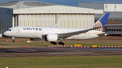 A picture of N26909 - Boeing 7878 Dreamliner - United Airlines - © Brian T Richards