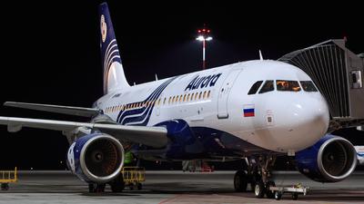 VP-BWK - Airbus A319-111 - Aurora