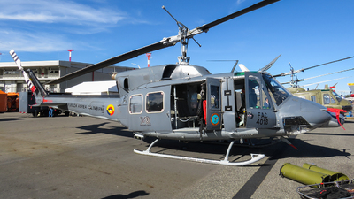 FAC4018 - Bell 212 - Colombia - Air Force