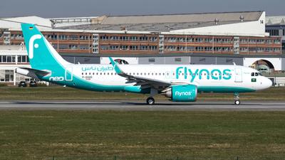 D-AUAG - Airbus A320-251N - Flynas