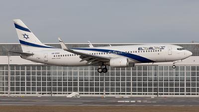 A picture of 4XEKA - Boeing 737858 - El Al - © Fabian Luehrs
