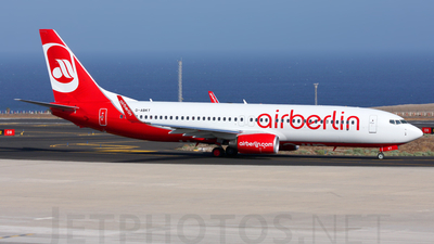 D-ABKT - Boeing 737-86J - Air Berlin