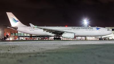 EC-LXR - Airbus A330-343 - Garuda Indonesia (Air Europa)
