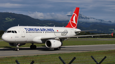 A picture of TCJLV - Airbus A319132 - Turkish Airlines - © ms spot