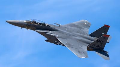 91-0600 - McDonnell Douglas F-15E Strike Eagle - United States - US Air Force (USAF)
