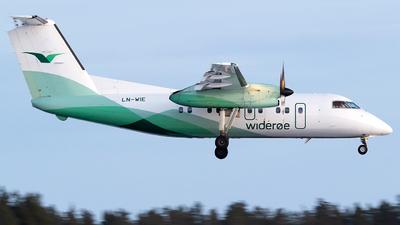 A picture of LNWIE - De Havilland Canada Dash 8100 - Wideroe - © Bora Polater