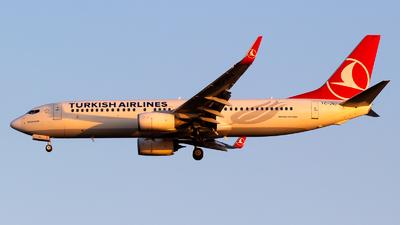 TC-JVJ - Boeing 737-8F2 - Turkish Airlines