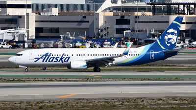 A picture of N579AS - Boeing 737890 - Alaska Airlines - © Rocky Wang