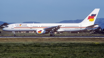 G-FCLD - Boeing 757-25F - Flying Colours Airlines