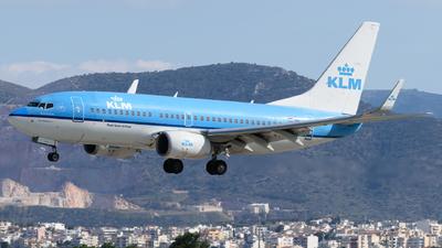 A picture of PHBGT - Boeing 7377K2 - KLM - © George Chaidaris