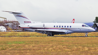 N339RA - Hawker Beechcraft 4000 - Private