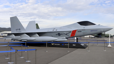 26-001 - KAI KF-X(Mock-Up) - South Korea - Air Force