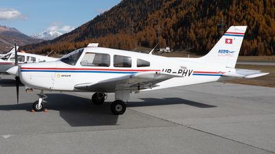 A picture of HBPHV - Piper PA28161 - [288416082] - © Alexandre Fazan