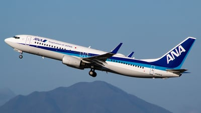 JA60AN - Boeing 737-881 - All Nippon Airways (ANA)