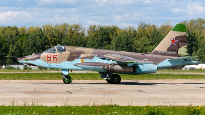 RF-92261 - Sukhoi Su-25SM Frogfoot - Russia - Air Force