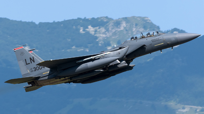 00-3004 - Boeing F-15E Strike Eagle - United States - US Air Force (USAF)