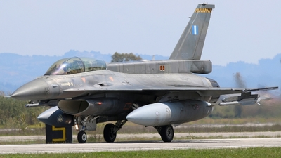 608 - Lockheed Martin F-16DJ Fighting Falcon - Greece - Air Force