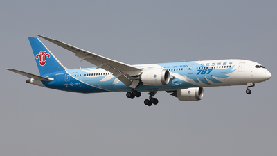 A picture of B2727 - Boeing 7878 Dreamliner - China Southern Airlines - © Lixing Moo