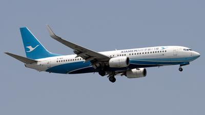 A picture of B1913 - Boeing 73785C - Xiamen Air - © Hafit Irawan