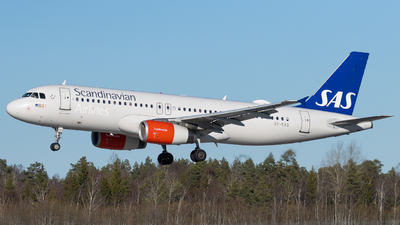 A picture of OYKAS - Airbus A320232 - SAS - © Rickard Andersson