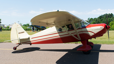 A picture of N5208H - Piper PA16 Clipper - [1610] - © John Newsome