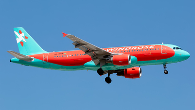 UR-WRW - Airbus A320-214 - Wind Rose Aviation