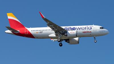 F-WWBD - Airbus A320-251N - Iberia