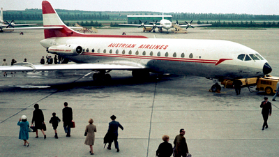 OE-LCA - Sud Aviation SE 210 Caravelle VIR - Austrian Airlines
