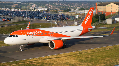 A picture of GUZHK - Airbus A320251N - easyJet - © Simon330lover
