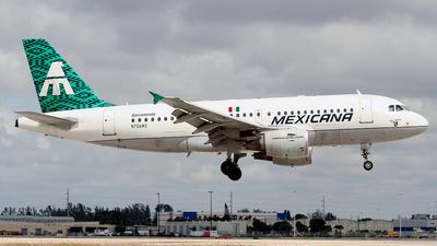 N706MX - Airbus A319-112 - Mexicana