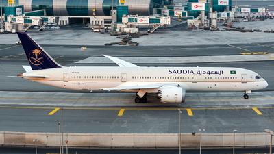 A picture of HZAR13 - Boeing 7879 Dreamliner - Saudia - © Jet92