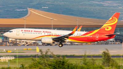 A picture of B7173 - Boeing 73786N - Hainan Airlines - © Yan Shuai