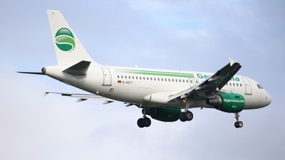 D-ASTY - Airbus A319-112 - Germania
