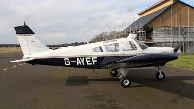 G-AYEF - Piper PA-28-180 Cherokee E - Private