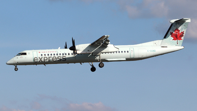 A picture of CGGND - De Havilland Canada Dash 8400 - Air Canada - © Guy Langlois