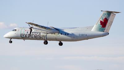 C-GKTA - Bombardier Dash 8-301 - Air Canada Express (Jazz Aviation)