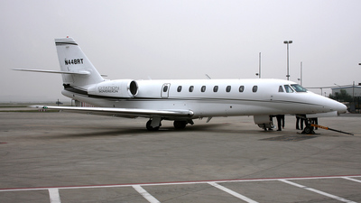 N448RT - Cessna 680 Citation Sovereign - Private