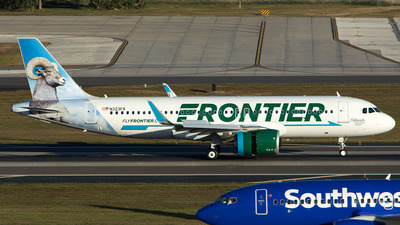 N323FR - Airbus A320-251N - Frontier Airlines