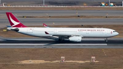 B-LAB - Airbus A330-343 - Cathay Dragon
