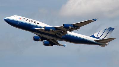 N199UA - Boeing 747-422 - United Airlines