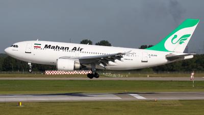 F-OJHI - Airbus A310-304 - Mahan Air