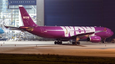 PH-IBC - Airbus A330-343 - WOW Air