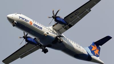 A picture of 4XATI - ATR 72500 - Israir Airlines - © Dejan Milinkovic