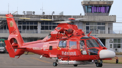 JA02FD - Eurocopter AS 365N3 Dauphin - Japan - Fire and Disaster Management Agency (Kyoto City Fire Department)