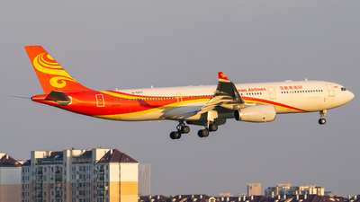 A picture of B5971 - Airbus A330343 - Hainan Airlines - © Wei Zhongyu