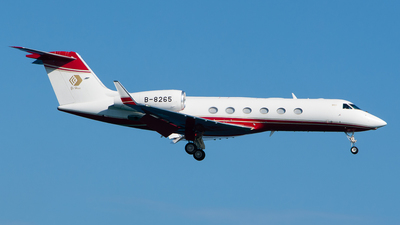 B-8265 - Gulfstream G450 - Private